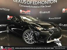 2017 black lexus rc 350 awd f sport series 2 in depth review downtown edmonton alberta youtube
