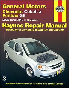 auto repair manual online 2009 chevrolet cobalt on board diagnostic system shop manual service repair book haynes chevrolet cobalt