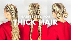 Hairstyles For With Thick Hair