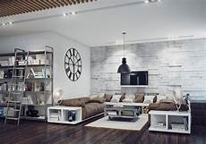 industrial style wohnzimmer industrial style living room interior design ideas