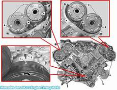 2006 2011 Mercedes Ml350 M272 Engine Timing Marks