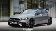 Mercedes Amg A45 2019 La Mercedes Classe A Amg Sera
