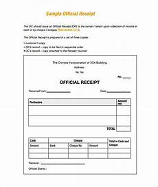 free receipt template doc sle receipt receipt template doc for word documents