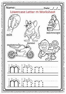 letter m worksheets for pre k 23713 lowercase letter m worksheets free printable preschool and kindergarten