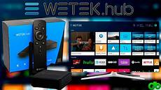 4k Player Test - wetek hub android tv box media player 4k fullhd unboxing
