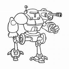 Ausmalbilder Roboter Leuk Voor Robots 0007
