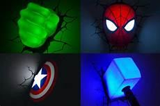3d light fx marvel comics super hero 3d deco lights