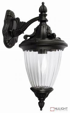 lighting australia newark outdoor wall light down facing black ori nulighting com au
