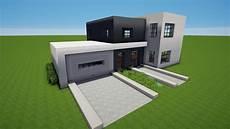 garage bauen minecraft modernes haus mit garage bauen tutorial haus 75