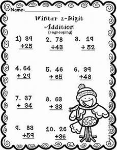 winter worksheets for 2nd grade 19997 freebie 2 digit addition winter theme practice worksheet i your students enjoy the winter