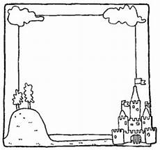 family family picture frame coloring page hearts