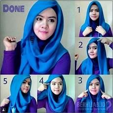 Tutorial Jilbab Segi Empat Untuk Kebaya Satu Warna Ragam