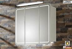 Spiegelschrank 80 Cm - pelipal lunic spiegelschrank 80 cm breite mit led in den