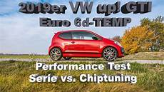 vw up chiptuning vw up gti 2019 performance test serie vs chiptuning