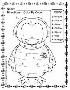 color math worksheets for kindergarten 12923 penguin color by number kindergarten your numbers freebie penguin coloring preschool