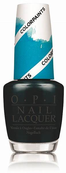 opi color paints blendable nail lacquer swatch and learn
