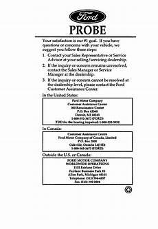 free online car repair manuals download 1997 ford crown victoria parental controls ford probe 1997 owner s manual pdf online download