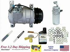 automobile air conditioning service 2006 chevrolet suburban electronic valve timing a c ac compressor kit for 2003 2006 chevrolet suburban 1500 with rear a c ebay