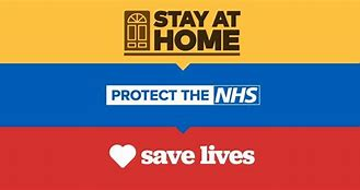 Image result for images of stay at home lockdown uk