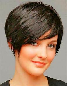 20 ideas of short hairstyles for full round faces