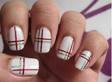 16 superb striping tape nail art designs