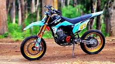 Modifikasi Crf 150 by Kereeenzzz Modifikasi Crf 150 L Supermoto