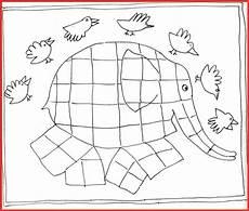 Ausmalbilder Elefant Elmar Malvorlage Elmar Der Elefant Grundschule Zum Ausdrucken