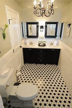 white bathroom floor tile ideas how to decorate your bathroom using black white