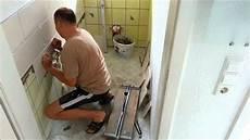 fliesen legen wc renovieren teil 7 fliesen legen