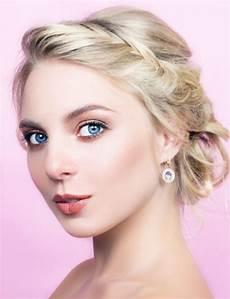 maquillage pour aux yeux bleus maquillage yeux bleus