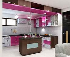 Kitchen Decorating Ideas For Flats by Simple Kitchen Interior Design For 1bhk House