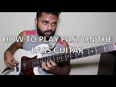 How To Play Fast On The Bass Guitar 3 Ultimate Speed
