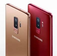 tout les samsung samsung de nouvelles couleurs pour les galaxy s9 et s9