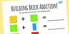 algebra worksheets primary resources 8566 building brick addition worksheet worksheet adding numeracy twinkl addition worksheets