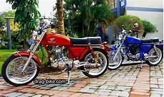 Modifikasi Motor Klasik by 51 Foto Gambar Modifikasi Motor Cb 100 Terbaik Kontes Drag