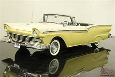 1957 Ford Skyliner Convertible 1957 ford fairlane 500 skyliner retractable convertible