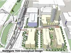 support the northgate bike walk bridge at tuesday open house a at the updated concept