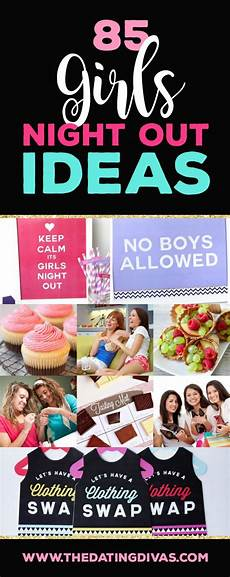 girls night out ideas including games and recipes girls