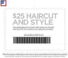 jcpenney salon 25 haircut and style printable coupon expires april 20 2013