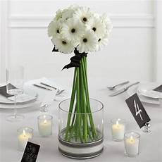 wedding flowers white gerbera daisies