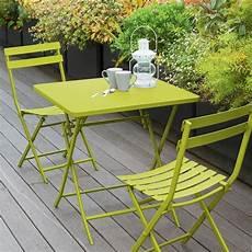 table et chaise de terrasse table de jardin pliante carr 233 e m 233 tal greensboro 70 x 70