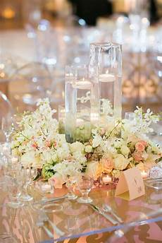 Wedding Centerpieces With Flowers And Candles floral wreath wedding centerpieces with floating candles