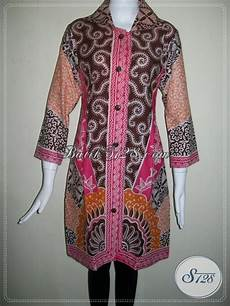 Dress Trendy Dan Model Masa Kini Dress Batik Kerja Motif
