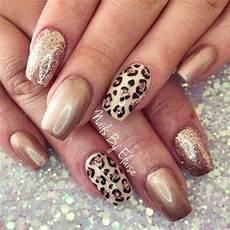 leopard nail art designs in 2020 leopard print nails