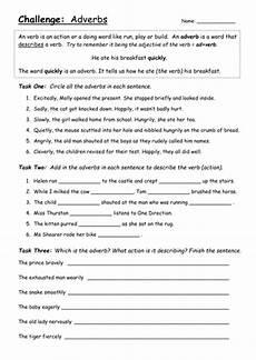 adverbs of time worksheets grade 4 3351 adverbs worksheet challenge year 3 teaching resources