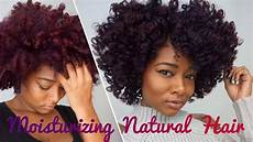 how to properly moisturize natural hair ft fortify d naturals youtube