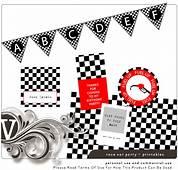 Noahs Race Car Party  Free Printables Cars Birthday