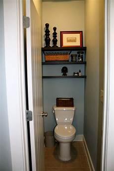 Bathroom Shelf Ideas Above Toilet by Wood Shelves Above Toilet Shelves Above The Toilet In