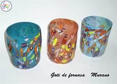 bicchieri veneziani bicchieri vetro murano goti de fornasa ladari murano