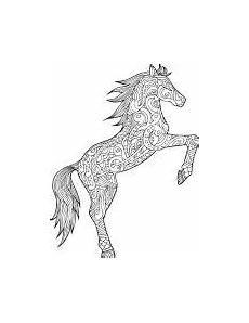 pferde mandala als pdf zum kostenlosen herunterladen